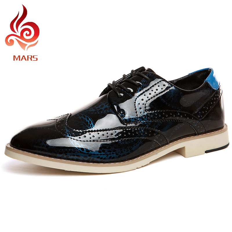 2015 New Design Men Shoes Business Office Brogue Vintage Carving Wedding Pointed Toe Oxfords Size:39-44 91373