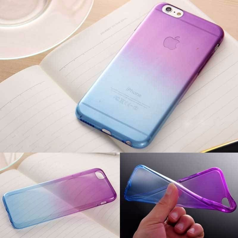 NEO Rainbow Silicoen Soft Case For iphone 6s Cover TPU Color Back Cover For iphone 6 6s Mobile Phone Cases Accessories & Parts