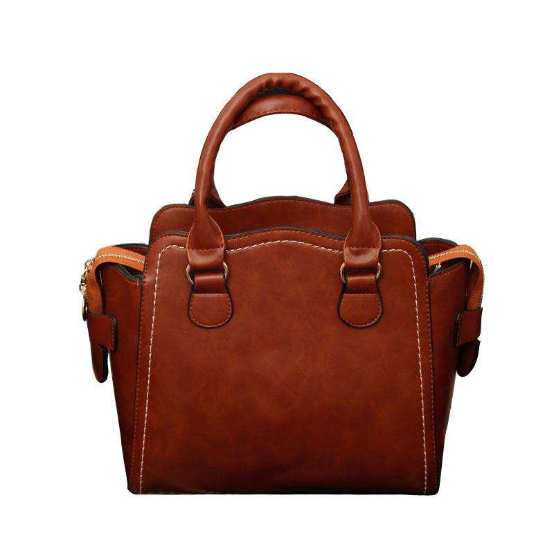 2016 New Womens Handbags Casual Pu Leather Retro Name Brand Handbags Womens Shoulder Bags Designers(China (Mainland))