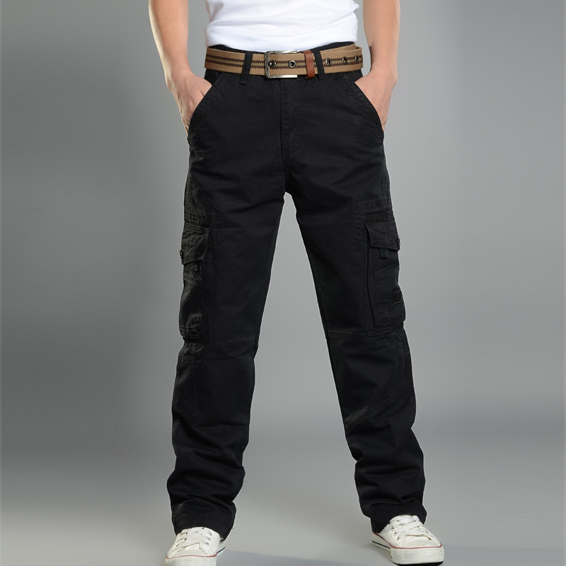 casual black pants for men - Pi Pants
