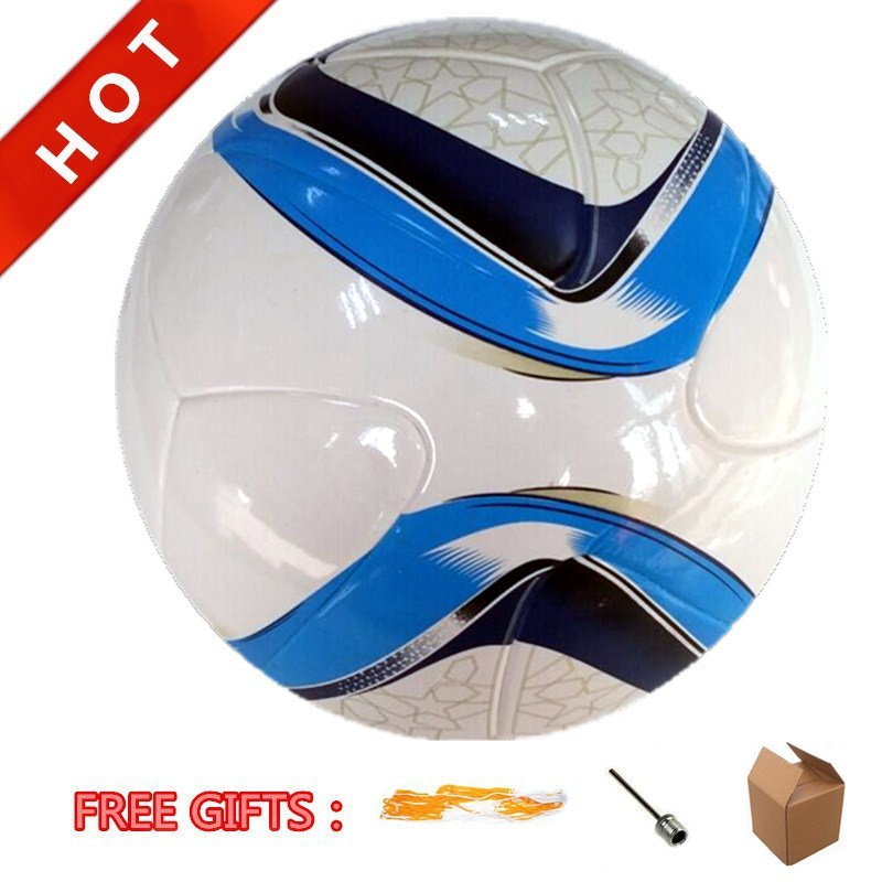 New Arrival!!! A+++ AFA Official Size 5# Match Ball Shiny TPU Soft Leather Glue Laminated Soccer Ball Football Freeshipping(China (Mainland))