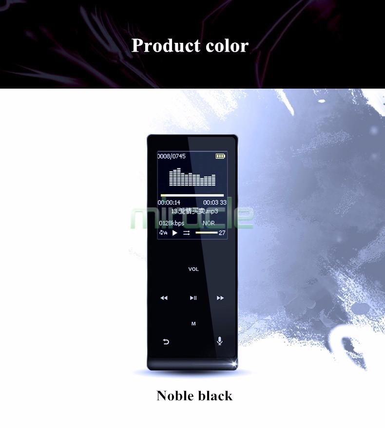 Купить Mp3-плееры мини bluetooth walkman, карта HIFI неразрушающего музыка, с bluetooth функция записи