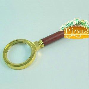 Mini 36 mm wooden - Handheld Magnifier