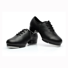 New Arrival Genuine Leather Men's Stepdames Soft Outsole Shoes Male Tap Dance Shoes Men Shoes Teacher Stage Shoes 1707(China (Mainland))