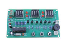 1Pcs DIY Kits AT89C2051 Electronic Clock Suite Electronic Parts and Components(China (Mainland))