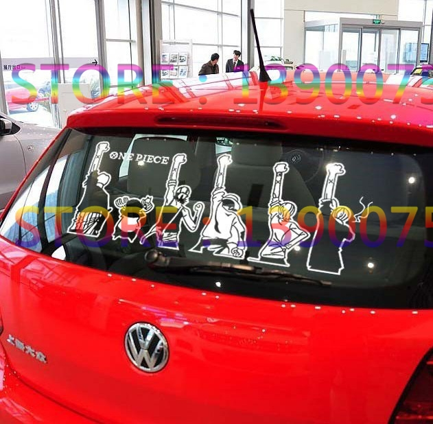 One Piece Car Sticker Malaysia Car Sticker One Piece