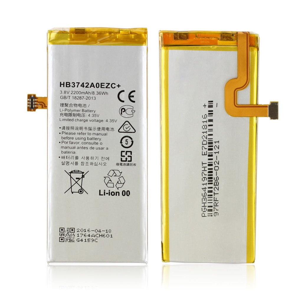 Battery For Huawei Ascend P8 Lite HB3742A0EZC+ Replacement High Quality 3.8V 2200mAh Battery for Huawei P8 Lite Li-Polymer(China (Mainland))