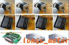 Buy 4Axis Nema 34 Stepper Motor 880OZ-In & stepper motor driver DM860A ControlLER db25 CNC Mill for $399.00 in AliExpress store