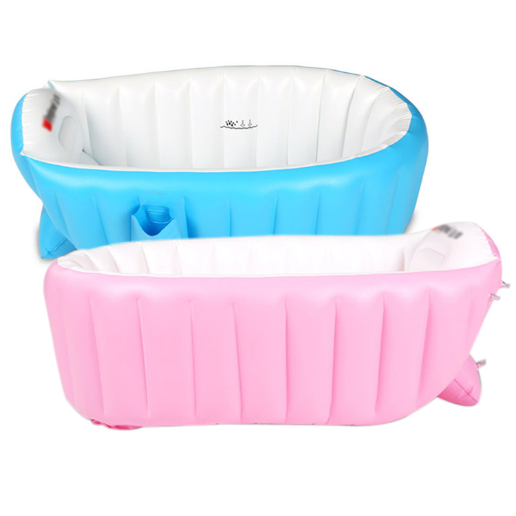 new summer high quality portable baby kid toddler inflatable bathtub newborn thick green bath. Black Bedroom Furniture Sets. Home Design Ideas