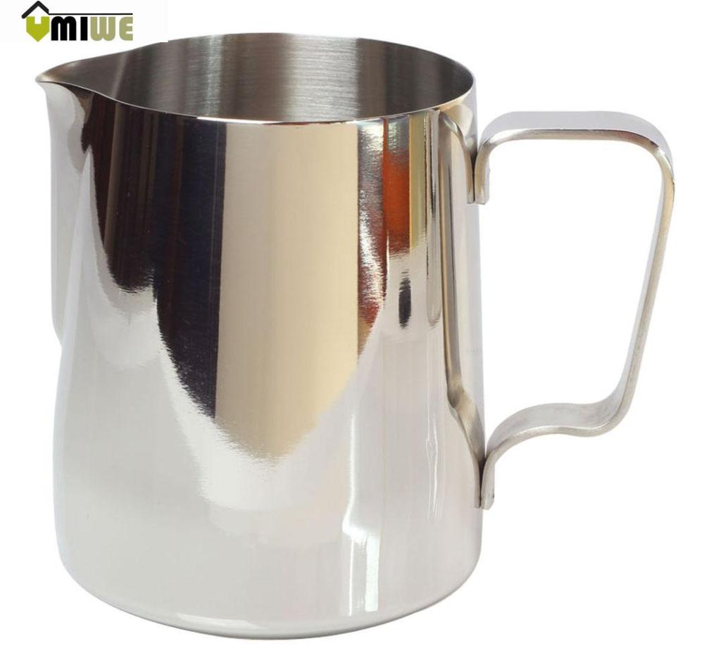 Umiwe Japanese Stype Thicken Stainless Steel Milk Frothing Pitcher (Silver,350ml)(China (Mainland))