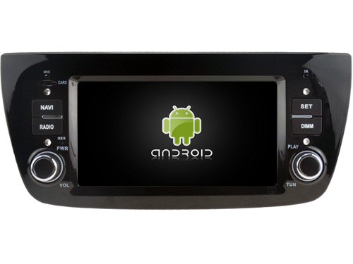 Android 5.1.1 CAR Audio DVD player FOR DECKLESS FIAT DOBLO gps Multimedia head device unit receiver BT WIFI(China (Mainland))