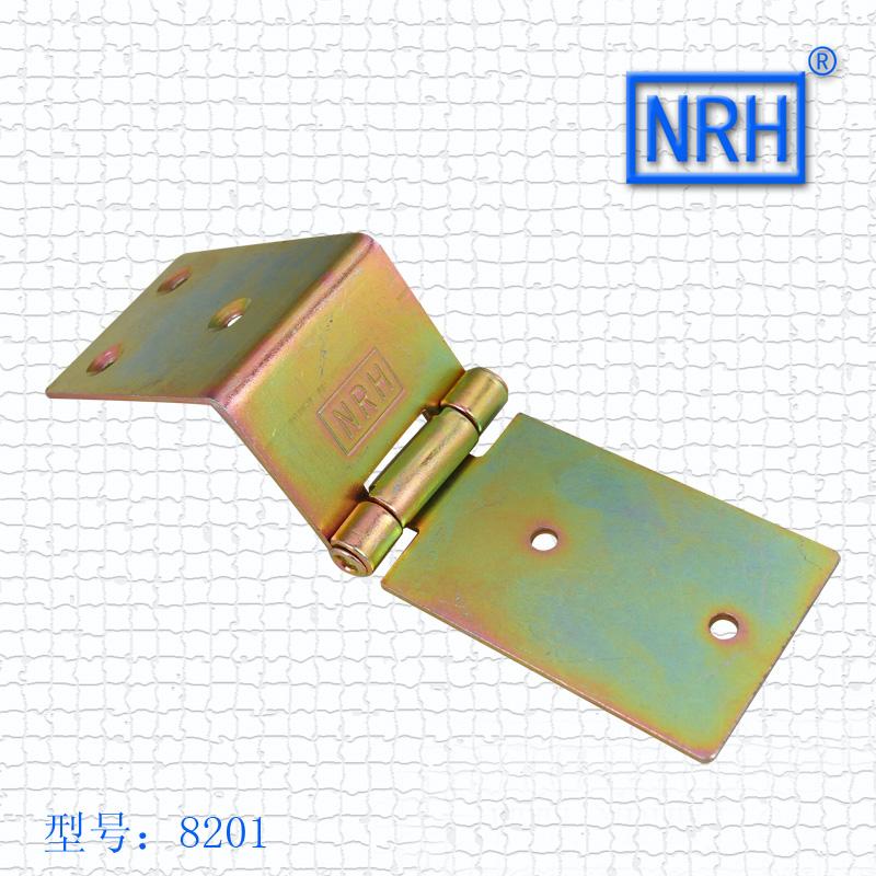 8201 wardrobe iron hinge 142.8*45mm NRH hardware wooden case toolbox hinge 3pcs/lot(China (Mainland))