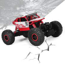 Hot sale RC Car 2.4Ghz 1/18 Scale Remote Control toys 4 Wheel Drive Rock Crawler rc Car remote control toys for children(China (Mainland))