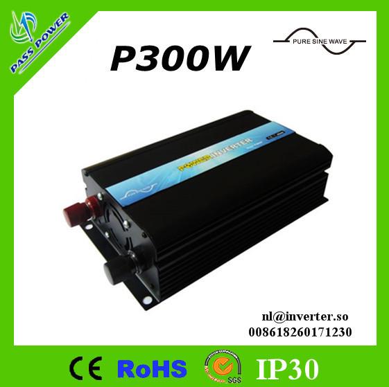 Free Shipping ! Pure Sine Wave Inverter 300W 12V 24V 48V to 110V 220V(China (Mainland))