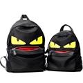 Demon Big Eyes Small Monster Fashion Backpack Monster Teenagers Girls Boys Nylon School Bags Cartoon Couple
