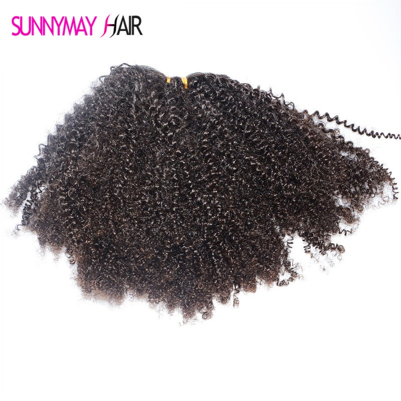 Mongolian Kinky Curly Hair Unprocessed 100% Human Hair Weaves Afro Kinky Curly Hair Extension Fast Shipping Hair bundles
