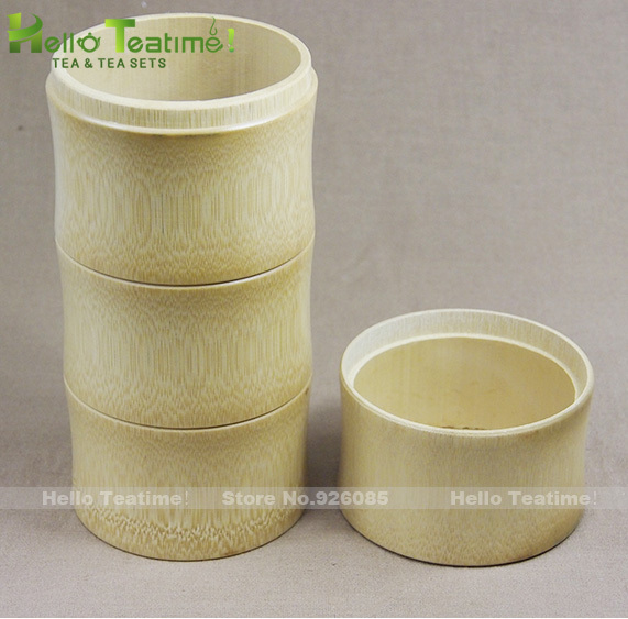 [HT!]Handmade bamboo tea jar,D9.5cm*H22cm,china kitchen food storage jars,candy storing tank,teas sealed container(China (Mainland))