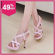 TAOFFEN women high heel sandals ladies buckle party shoes woman sexy leopard heels heeled sandalias footwear size 31-47 PA00162