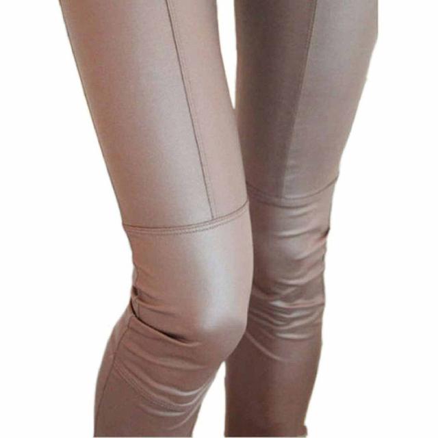 Trousers For Женщины Sexy Сплошной Черный Coffee High Талия Leggings Winter Leggings ...