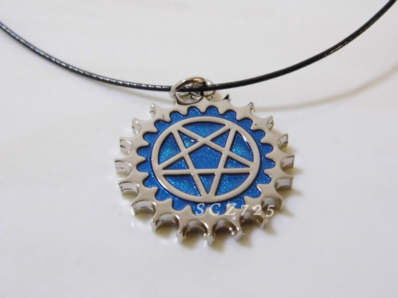 Japanese Anime/manga Black butler Ciel Phantomhive Oddo's eye symbol metal necklace/pendant! - CCPRO store