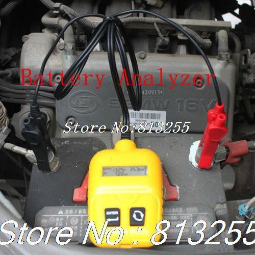 2015 New Auto Digital Battery Analyzer Tester Tool SC100 Digital Car Battery Analyzer Battery Checker(China (Mainland))
