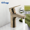 Frap Bronze Basin faucet Brass body Faucets Mixed hot and cold water taps F1030 4