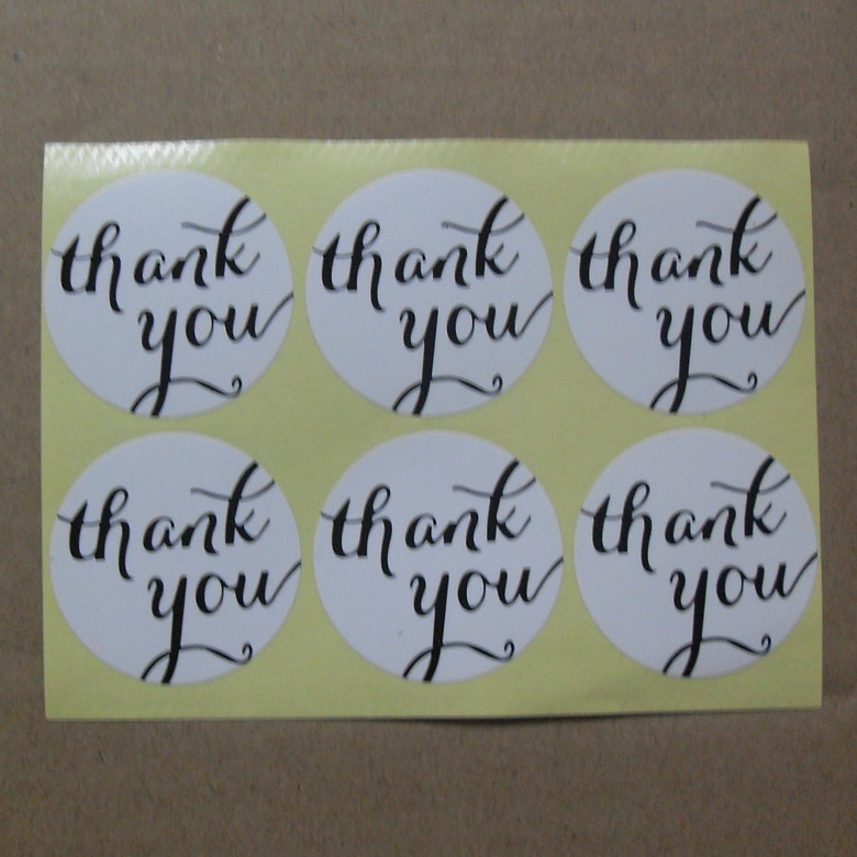 Упаковочные этикетки Thank you for you , 100pcs/lot 30 NE-0005 120pcs lot circular cursive writing thank you adhesive kraft seal sticker for baking gift label stickers funny diy work