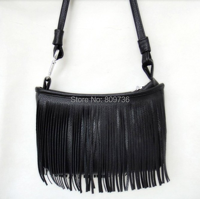 AliExpress.com Product - 1PC New Fashion Vintage Hippie Boho Suede-like Fringed Shoulder Bag Tassel Crossbody Bag Women package 3 Colors