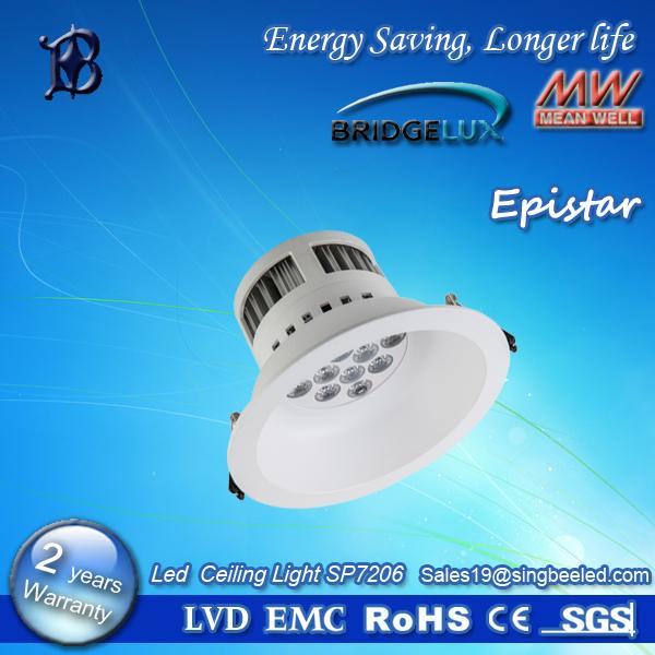 LED ceiling light SP-7206,LED room lights, office lights,hot LED lights,low energy,low heat,12W(China (Mainland))