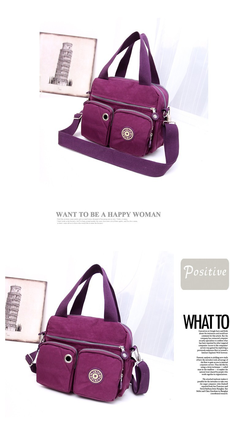 Women Brand Handbag Kip Tote Shoulder Cross-body Bag Bolsas Female