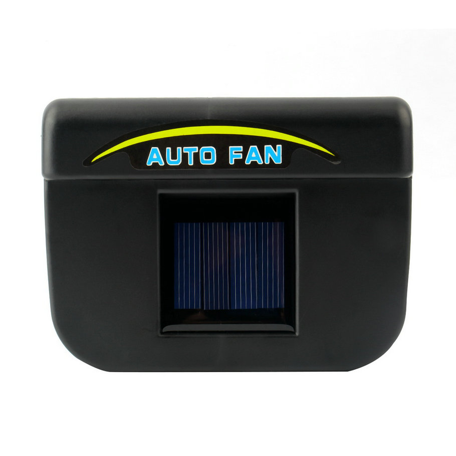 New Solar Power Car Window Fan Auto Ventilator Cooler Air Vehicle Radiator vent With Rubber Stripping hot selling(China (Mainland))