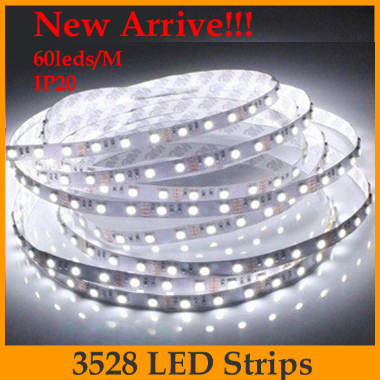 Wholesale Led Non Waterproof Strip Light 10m 3528 60leds M Dc12v Led Tape High Quality From