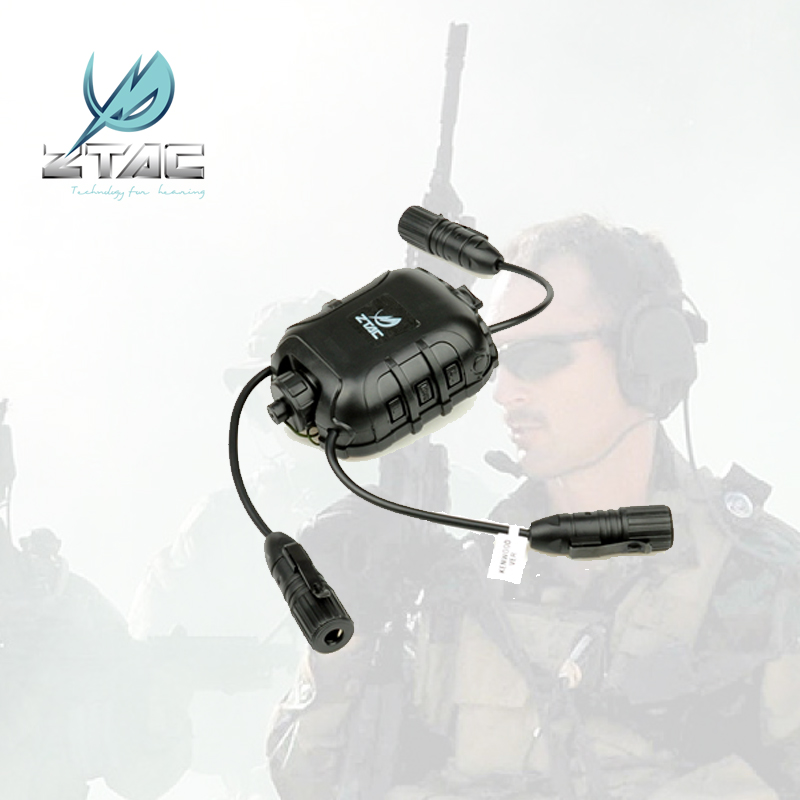 Z 118 Tactical Headset accessories Z TACTICAL Element Outdoor headset accessories Ztac Z40OPS classic PTT earphone(China (Mainland))