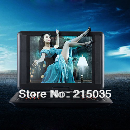 Portable DVD 18 INCH  3d mobile dvd evd portable dv