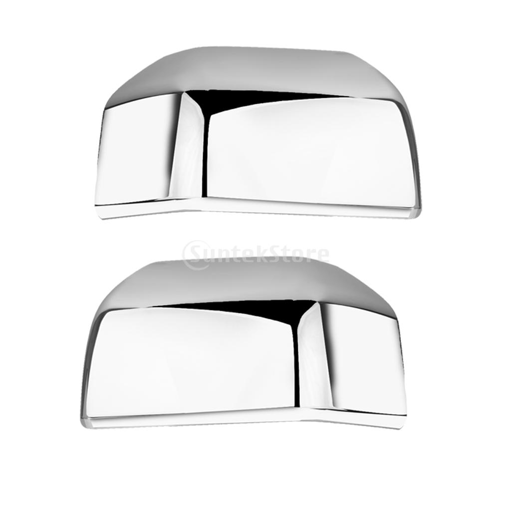 1 Pair ABS Chrome Mirror Covers Trim Overlay Caps for FORD F150 2015-2016(China (Mainland))