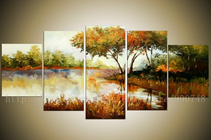 Oil Paintings On Canvas High Quality 100 Hand Painted For