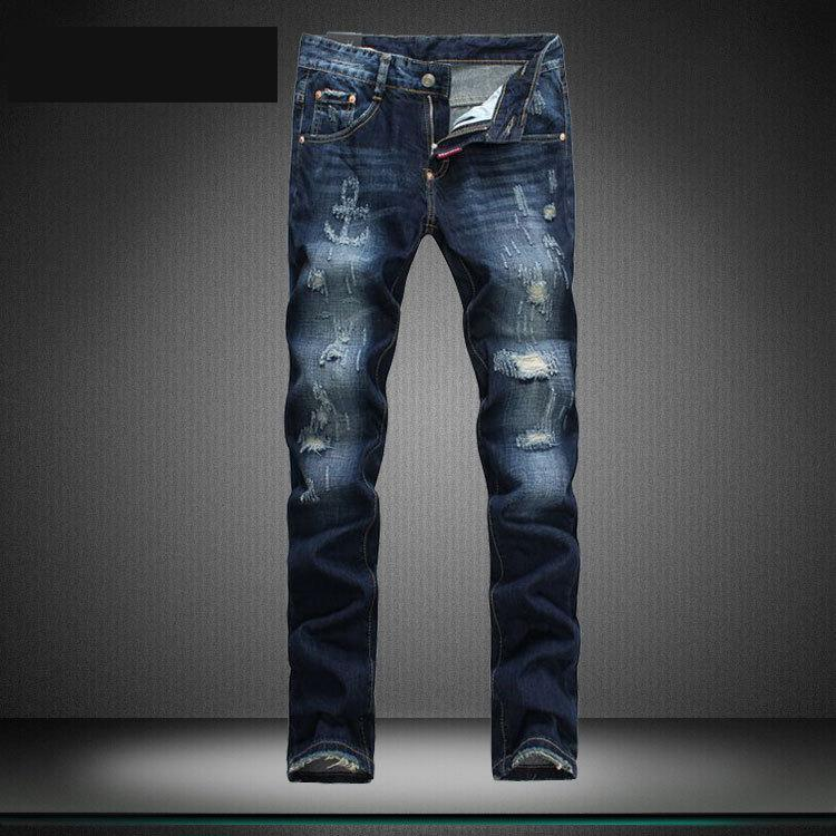 2015 mens fashion jeans men pants dsq2 mens ripped jeans slim fit mens jeans brand pantalon ...