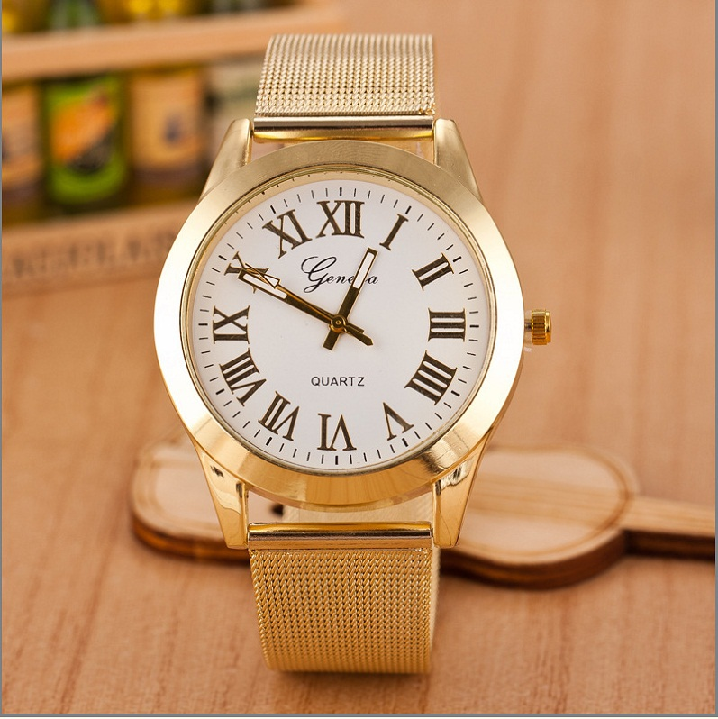 gold stainless steel fashion dress