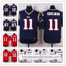100% Stitiched Tom Brady,Rob Gronkowski,Julian Edelman for youth,KIDS,women(China (Mainland))