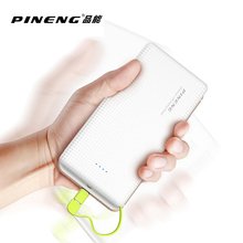 Buy Original PINENG PN-951 10000mAh Portable Fast Charging Battery Mobile Power Bank Dual USB Output Li-Polymer Charger for $16.96 in AliExpress store
