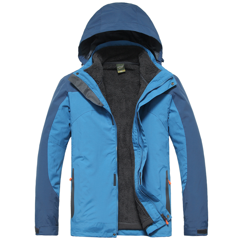 Outdoors Jacket Casual style famous brand 2015 New Fashion man jackets 100% polyester recreation men coatsSize L-4XL.15836 - City Tribe store