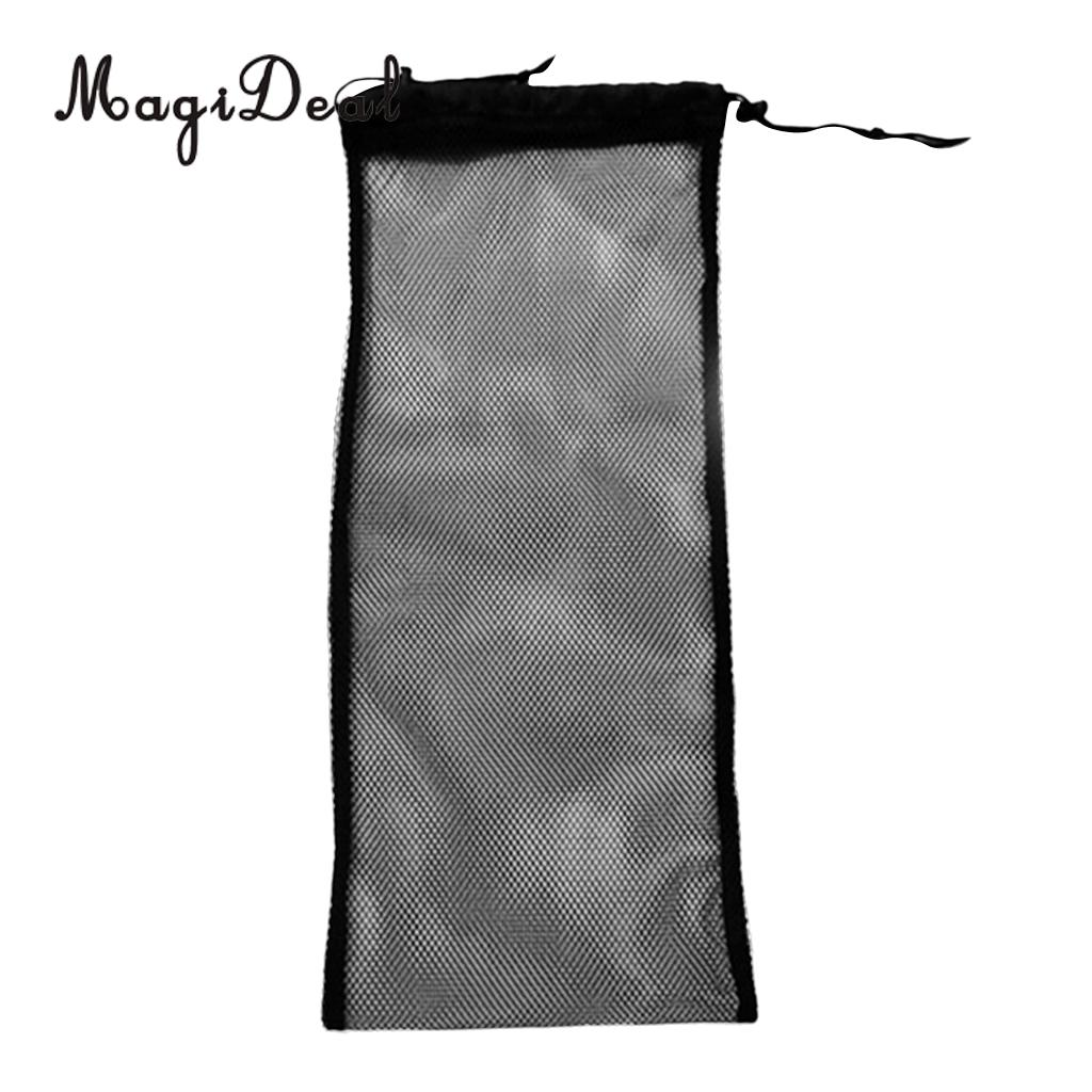 MagiDeal Durabel 20KG Scuba Diving Snorkel Gear Swimming Fin Flippers Shoes Storage Carry Mesh Bag for Summer Swim Swimming Acce