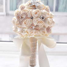 italy new jersey silk wedding flower