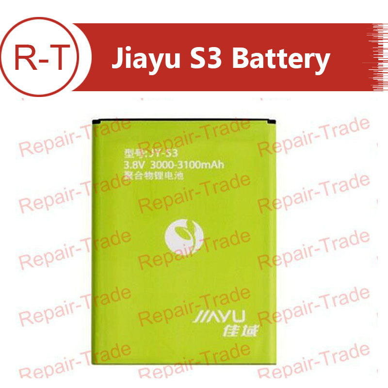 Jiayu S3 Original Battery or replacement batteries 3000-3100 mAh JY-S3 battery For jiayu S3 Mobile Cell Phone Free Shipping