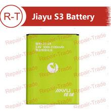 Jiayu S3 Original Battery or replacement batteries 3000-3100 mAh JY-S3 battery For jiayu S3 and Jiayu S3+ Cell Phone (China (Mainland))