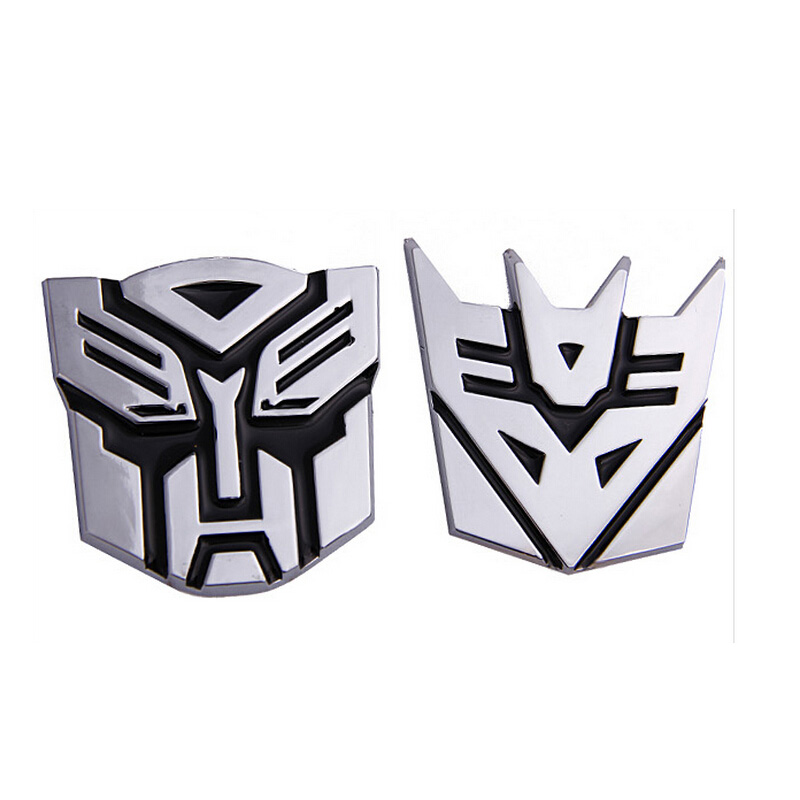 2016 3D pure metal Transformers car stickers car stereo car stickers car decoration stickers reflective stickers Decepticons<br><br>Aliexpress