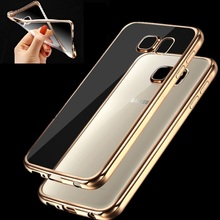 Fashion Luxury High Quality Plating Design Cover Case for Samsung Galaxy S5/S6/S6 edge/S6 edge Plus/ S7 / S7 edge(China (Mainland))