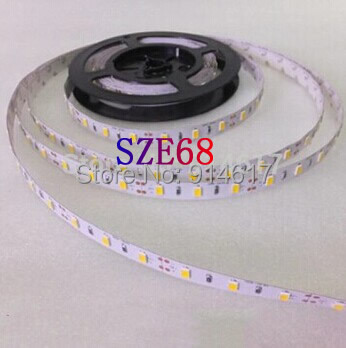 Non-waterproof 5630 5m 300 LED strip Light  Lighting  Warmwhite Cool white 5 colours for choose Free Shipping