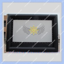 Free Shipping Large Inflatable Movie Screen for Outdoors Commercial Quality with CE or UL Blower Inflatable Screen(China (Mainland))