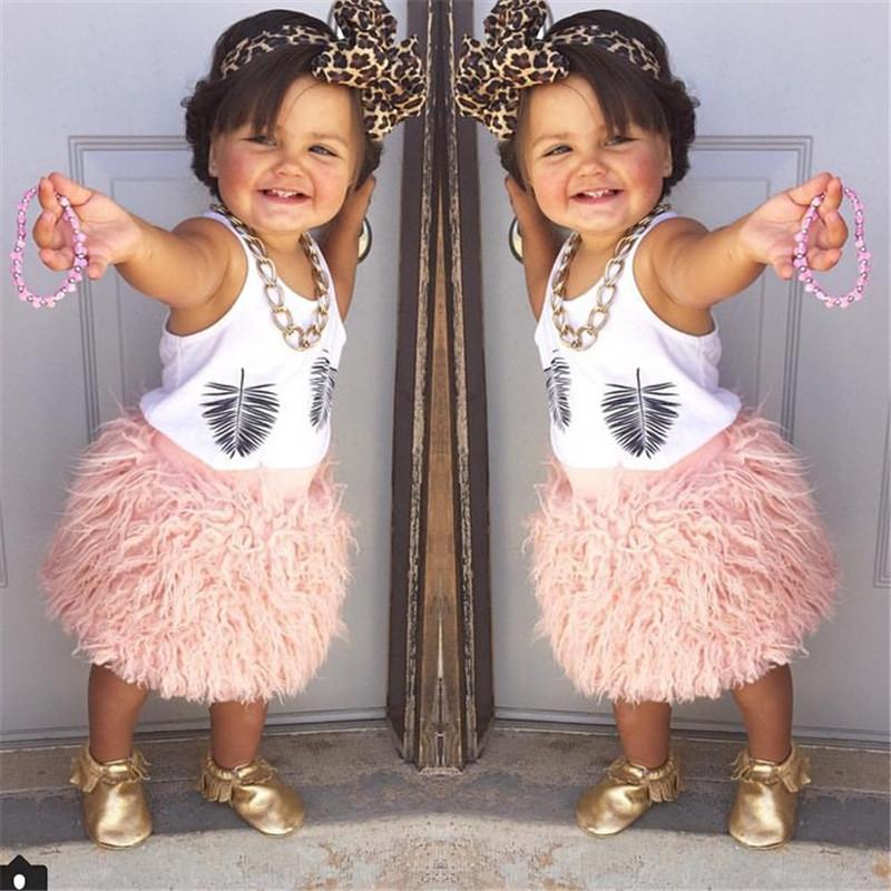 Plush Girls Tutu Skirt Pink Girls Skirts Autumn Toddler Girl Skirt Fall Winter Kids Skirts For Girls 1-10 Years(China (Mainland))